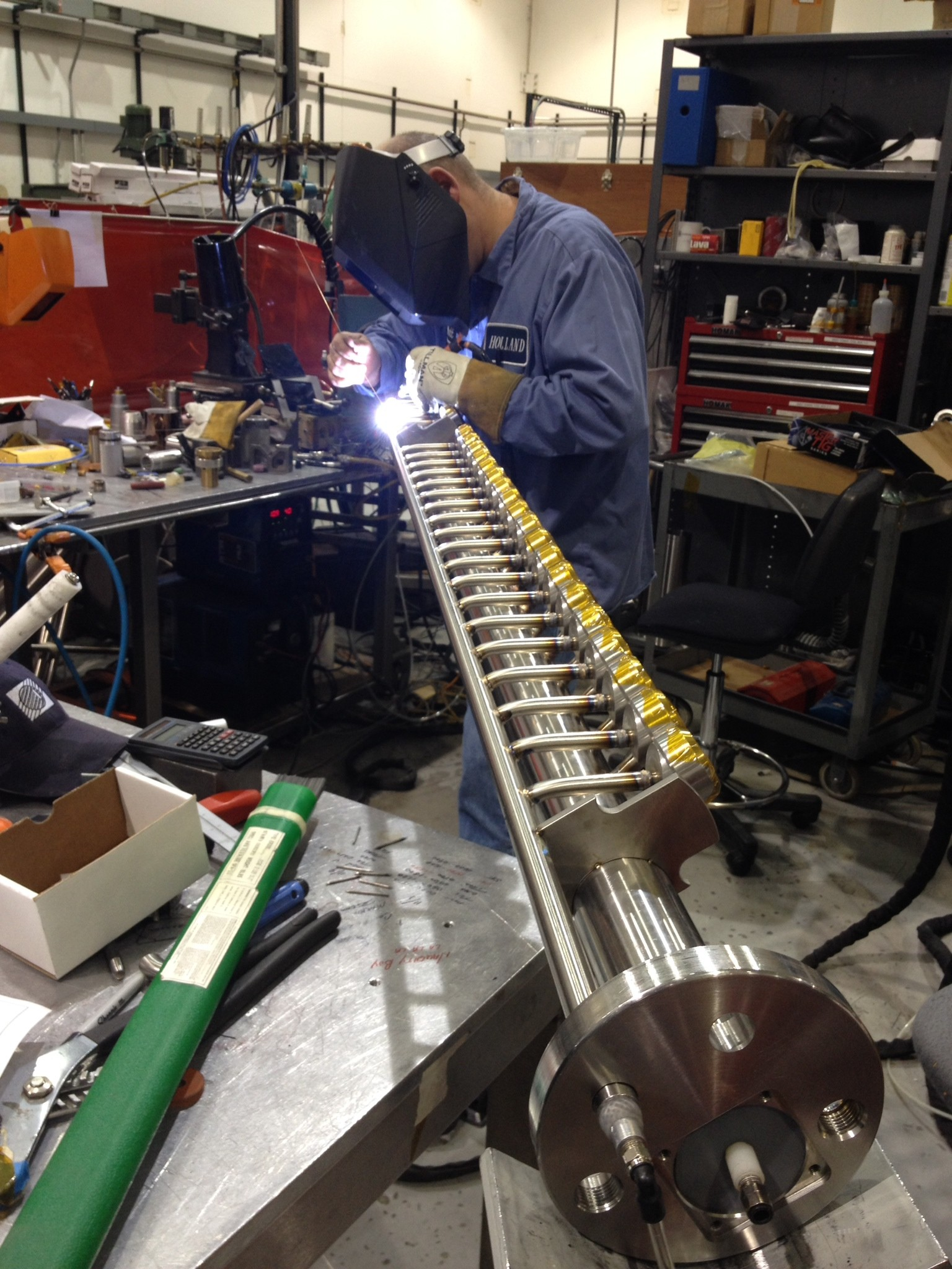 We Offer A Broad Array of Custom Fabricated Sanitary Process Components and Piping Systems